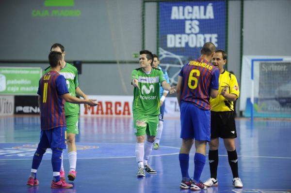 Rafael se pierde el duelo de Inter Movistar ante Barça Alusport