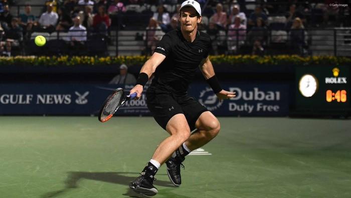 ATP Dubai, i quarti di finale: Murray sfida Kohlschreiber