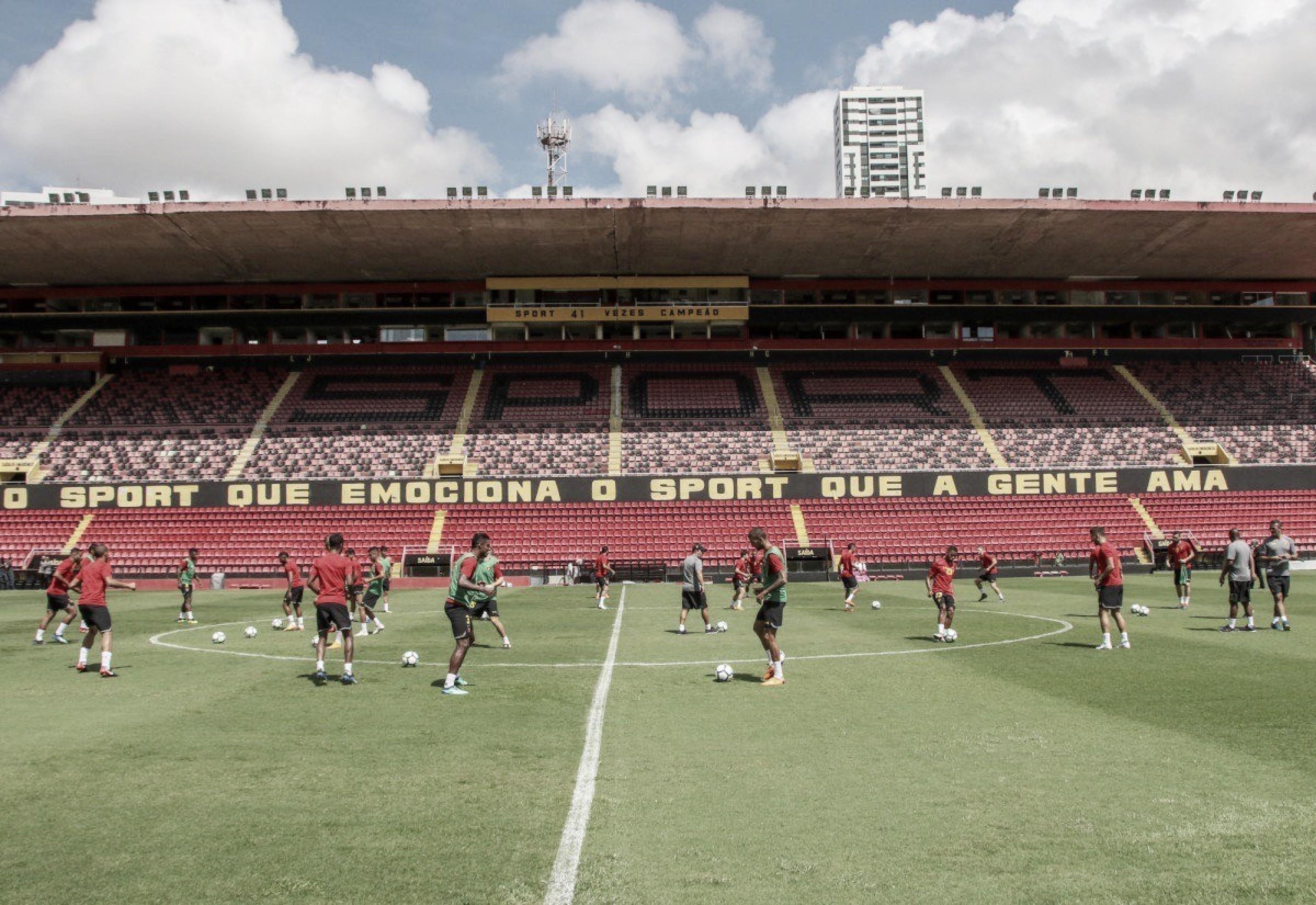 Visando sair do Z-4, Eduardo Baptista começa a montar o Sport para jogo contra o Corinthians