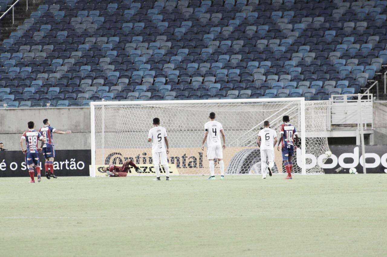 Gilberto decide, Bahia vence Santa Cruz-RN e avança na Copa do Brasil