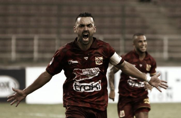 Anzoategui golea en la Sudamericana