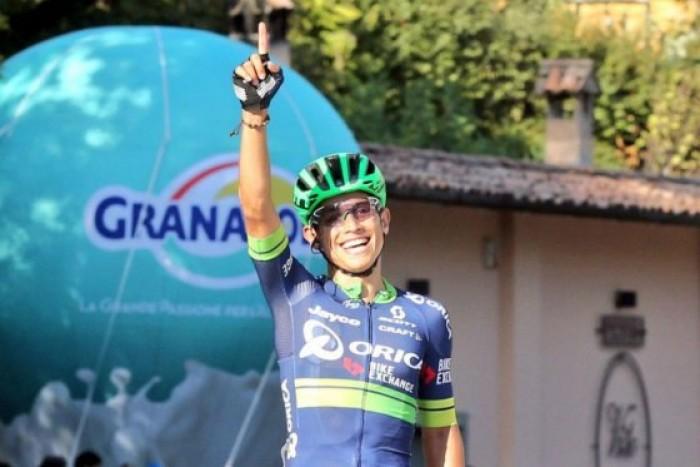 Esteban Chaves se coronó campeón en el Giro dell'Emilia