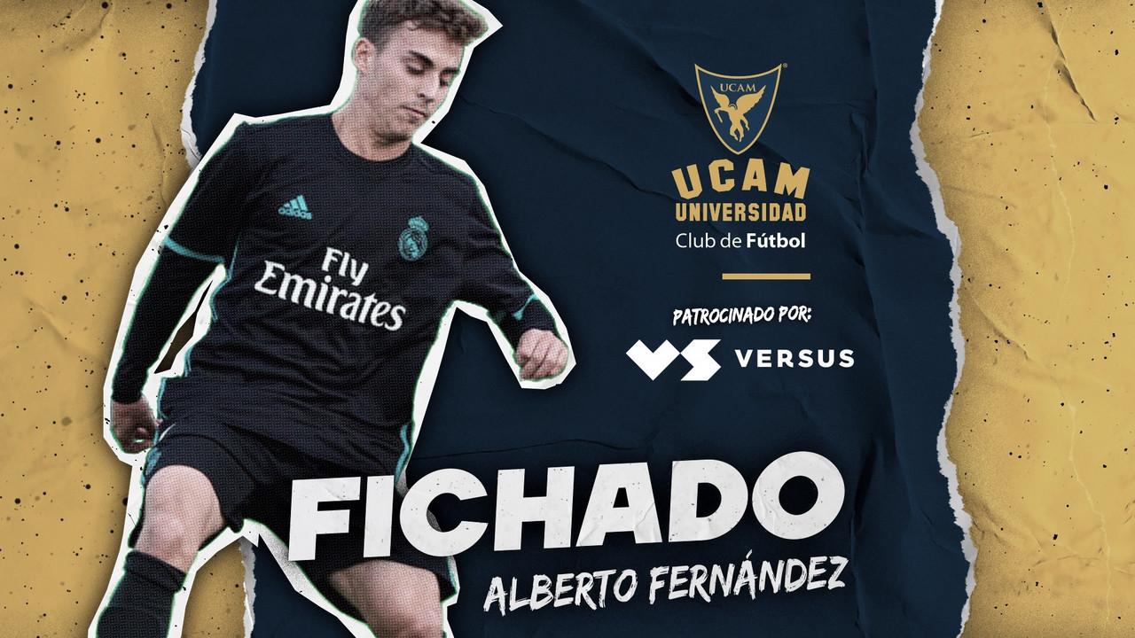 Alberto Fernández tratará de reinventarse en el UCAM Murcia CF
