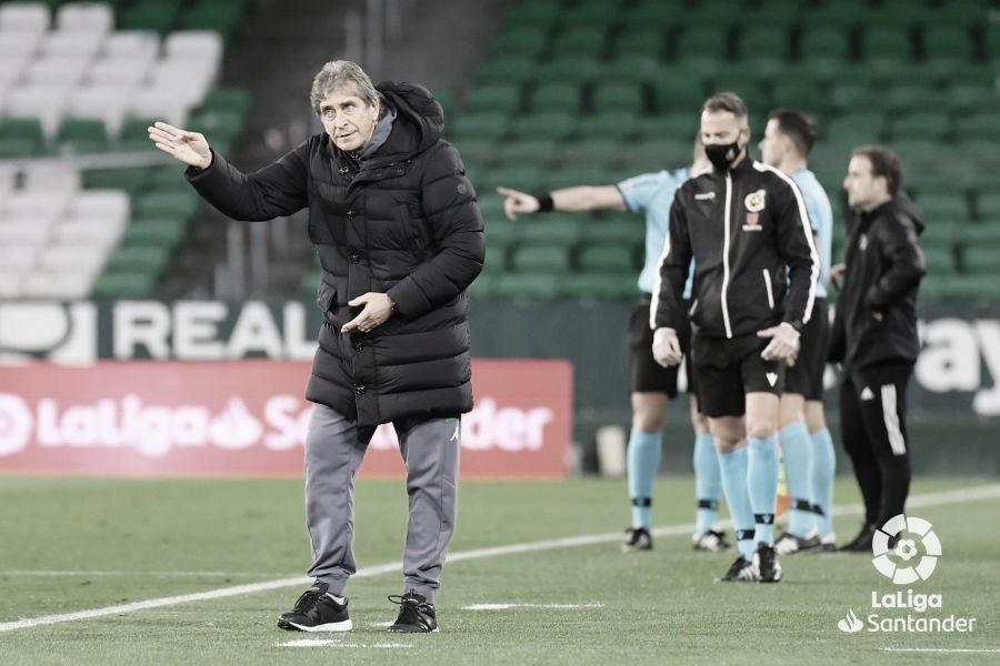 Pellegrini, el entrenador del Betis con mayor porcentaje de victorias en su historia