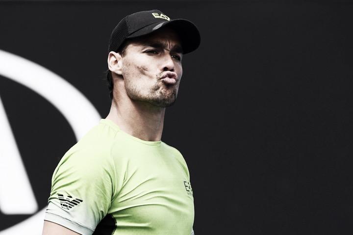 Fognini vence Mayer em sets diretos e terá Carreño Busta pela frente no Australian Open