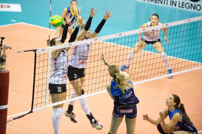 Volley F - Champions League: l'Imoco vince 3-2 contro la Liu Jo Modena
