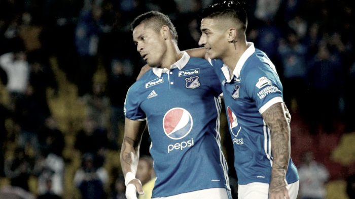 Brillante victoria azul sobre Tolima en Bogotá