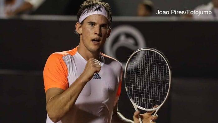 ATP Rio - Thiem non sbaglia, Fognini KO
