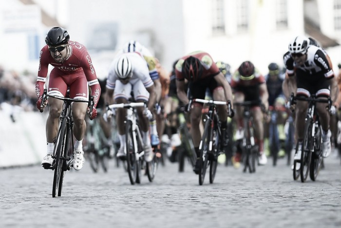 Bouhanni coge confianza en tierras belgas de cara a San Remo