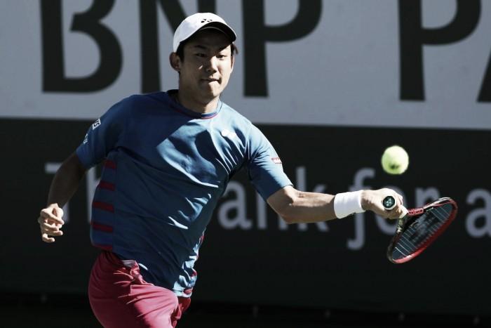Indian Wells: Nishioka derrotó a otro Top 20