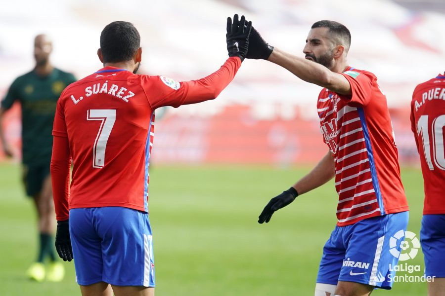 Granada CF- SD Huesca : puntuaciones del Granada, jornada 12 de LaLiga
