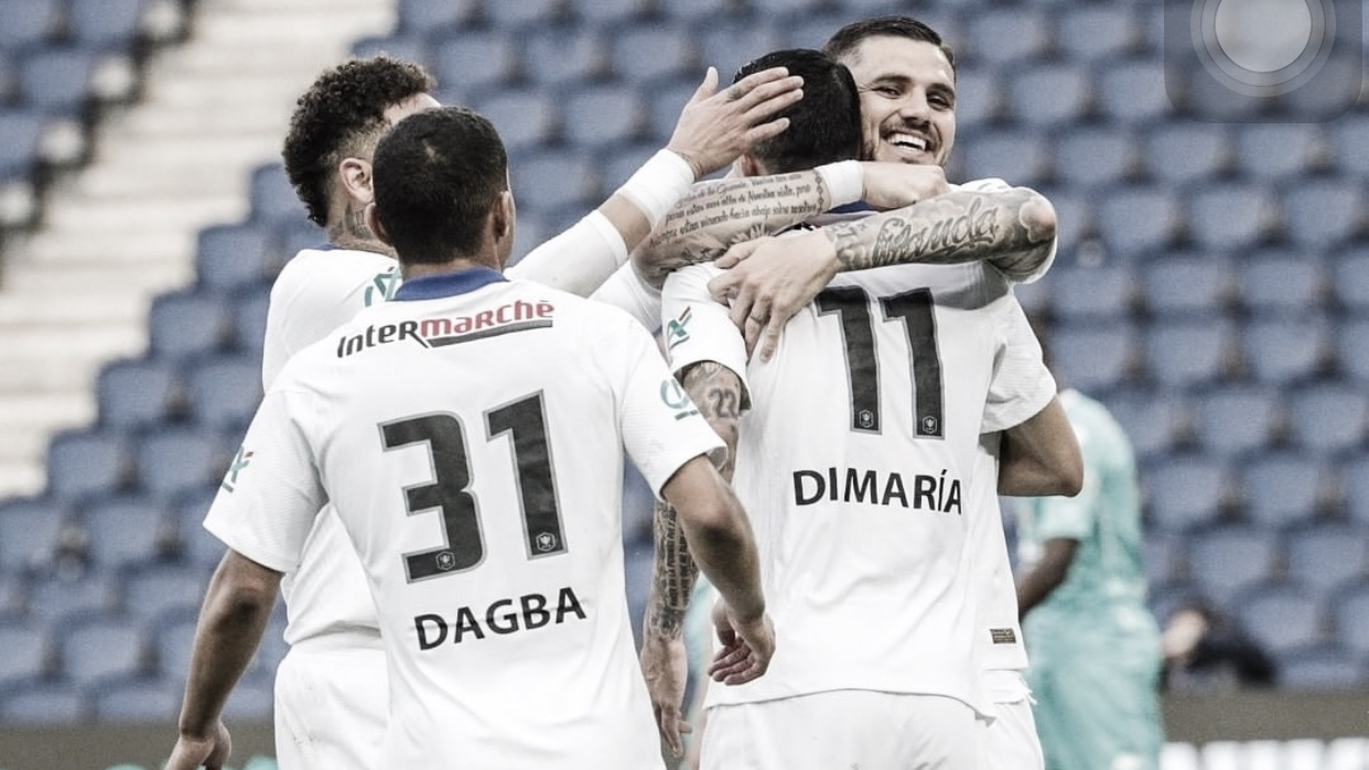 Paris Saint-Germain goleia Angers e avança à semifinal da Copa da França