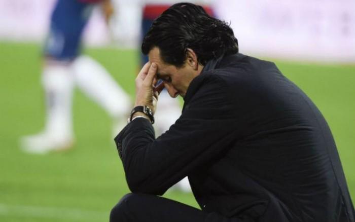 """Champions League - Un naufragio che farà storia, ma Emery attacca: """"L'arbitro ci ha danneggiato"""""""