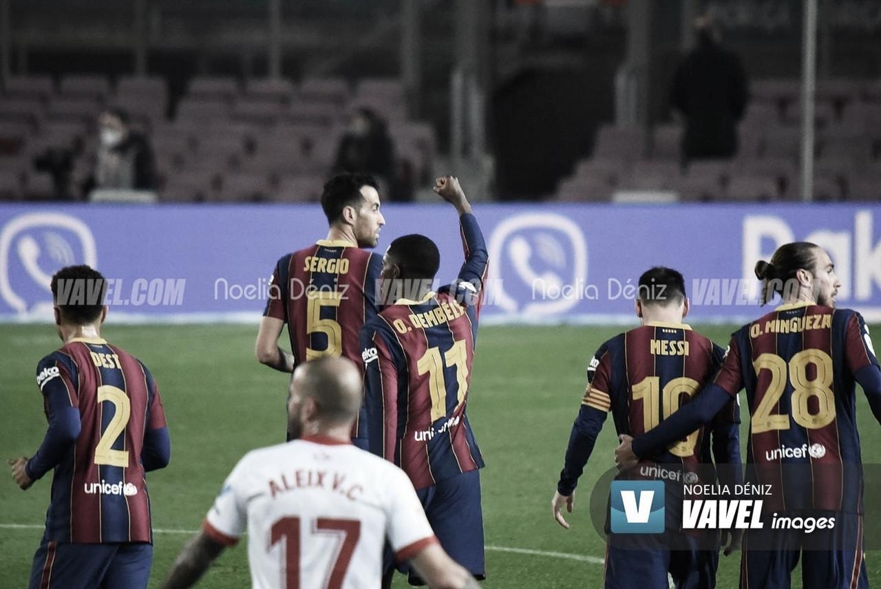 El Barça mantiene la mejor racha de Europa