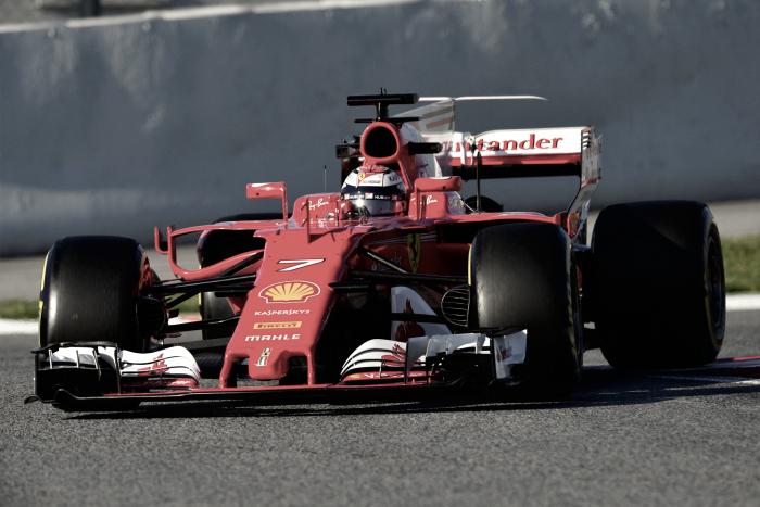Formula 1 - Ultimo giorno di test, Raikkonen stampa il tempone nella mattina