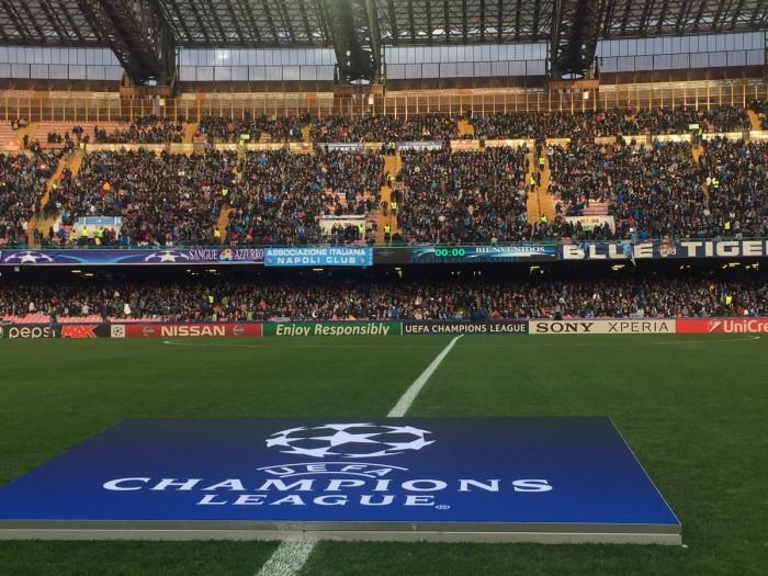 Champions League: Napoli - Real Madrid, le formazioni ufficiali