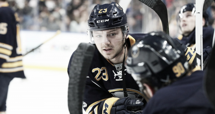 Finally is what the Sabres and their fans are saying as the Reinhart holdout ends (James P. McCoy/Buffalo News)