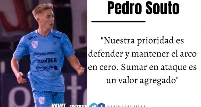 Pedro Souto: ''Necesitábamos ganar la solidez defensiva''
