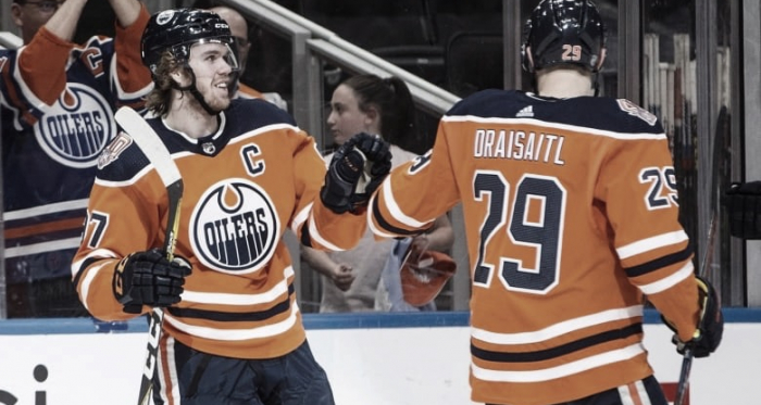 McDavid y Draisaitl | Foto: sportsnet.ca