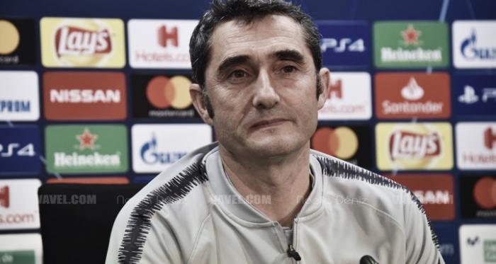 Ernesto Valverde en una rueda de prensa   Foto de Noelia Déniz, VAVEL