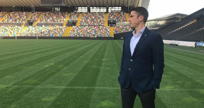 Julio Velazquez, tecnico dell'Udinese. | Twitter.