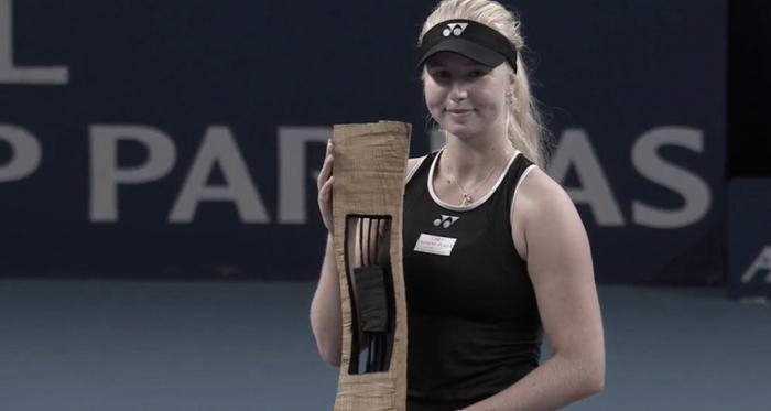Clara Tauson gana el torneo de Luxemburgo