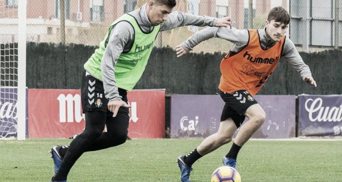 Entrenamiento del Pucela, Fotografía: Real Valladolid