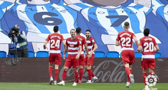 Real Sociedad-Granada CF: puntuaciones del Granada, jornada 35 de LaLiga