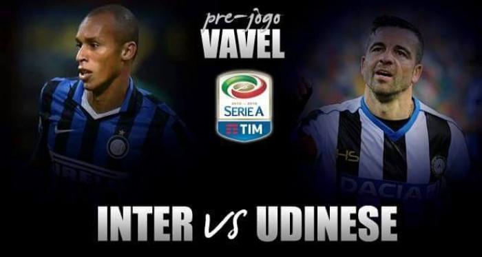 Internazionale busca recuperação na Serie A diante da desfalcada Udinese