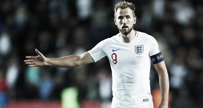Harry Kane en un partido con Inglaterra| www.thefa.com