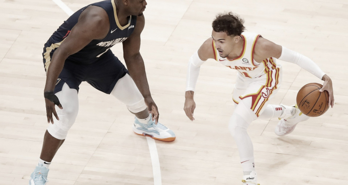 Melhores Momentos Pelicans 99x102 Hawks pela NBA