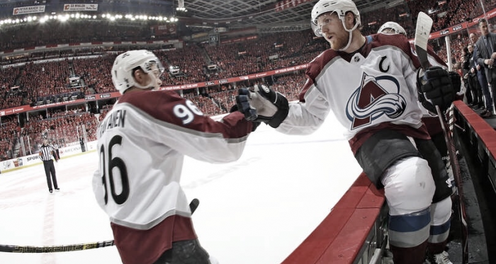 Landeskog y Rantanen letales para Calgary Foto Gerry Thomas/Getty Images