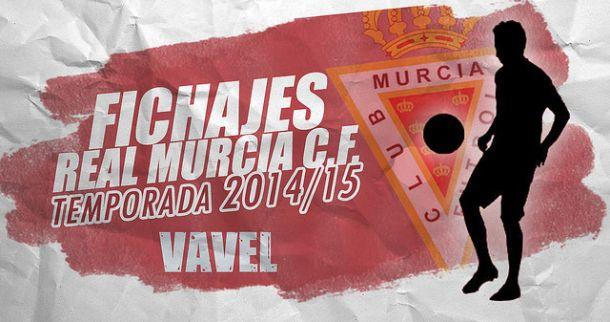 Fichajes del Real Murcia temporada 2014/2015 en directo
