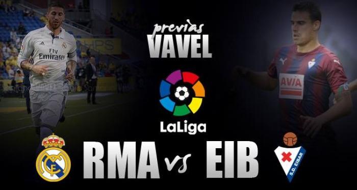 Previa Real Madrid - Eibar: Ganar y no morir en el intento