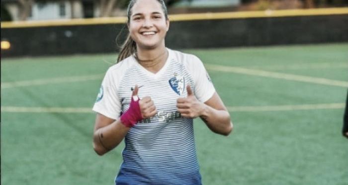 Deyna no deja de sorprender al fútbol mundial con su talento / Foto: Meridiano.