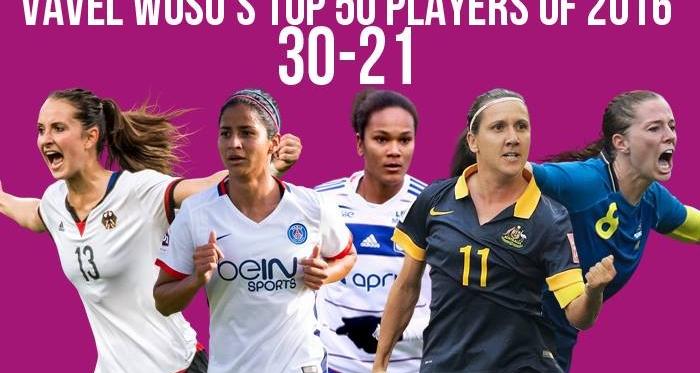 VAVEL Top 50 Female Footballers of 2016: 30-21