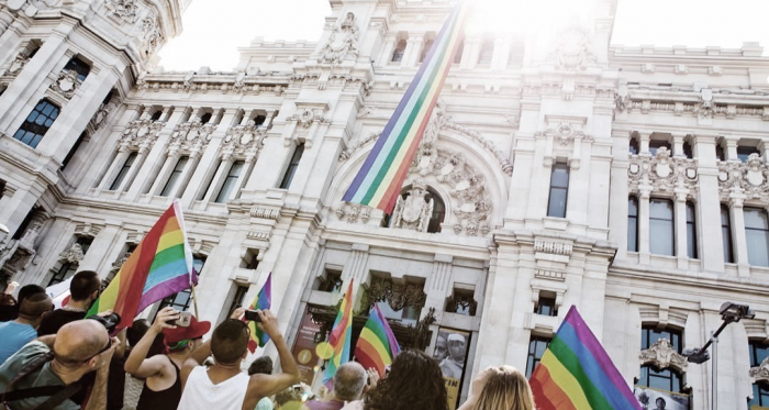 Manifestación del Orgullo Gay // Fuente:www.spain-holiday.com