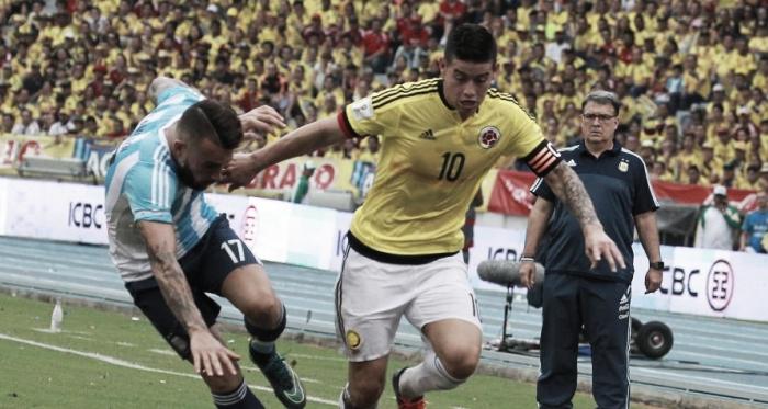 Octava fecha de eliminatoria: Argentina - Colombia