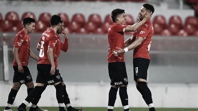 Independiente goleó a Colón y es puntero