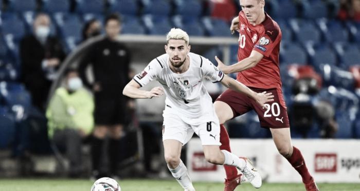 Jorginho perde pênalti, Sommer brilha e Suíça empata com Itália nas Eliminatórias