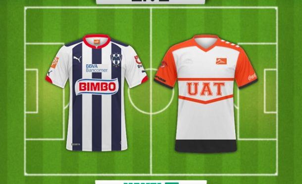 Resultado Monterrey - Correcaminos en Copa MX Clausura 2015 (0-1)