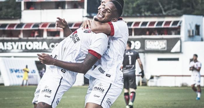 Vitória goleia Brasil de Pelotas em casa e sonha com permanência na Série B