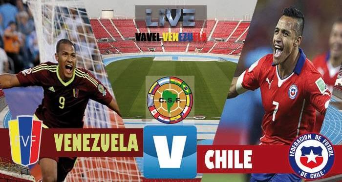 Resultado Chile vs Venezuela por Eliminatorias Mundial 2018 (3-1)