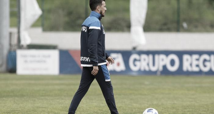 """Rubén de la Barrera: """"Yo soy del Dépor y soy de A Coruña. Quiero lo mejor para el club, y si es conmigo, mejor que mejor"""""""