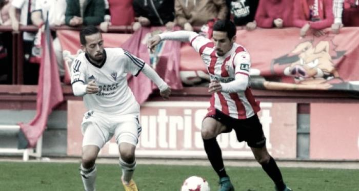 UDL 1-2 Mirandés, esta temporada en Las Gaunas | Foto: riojapress.com