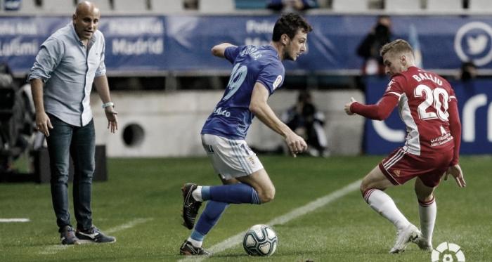 Balliu frente a Borja Sánchez   Fuente: La Liga