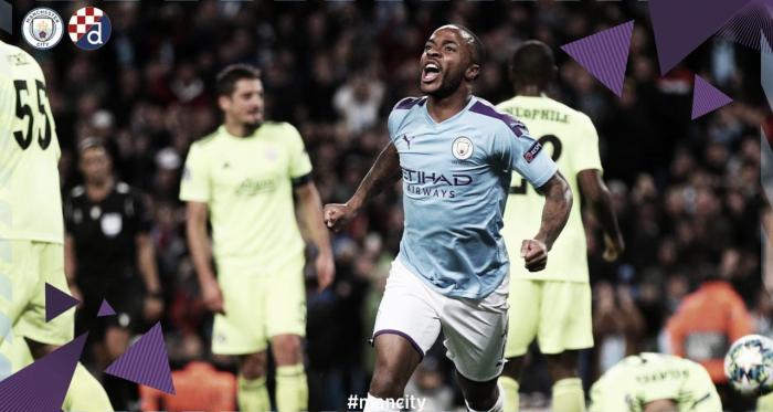Sterling brilha e garante vitória do City sobre o Dinamo Zagreb pela Liga dos Campeões