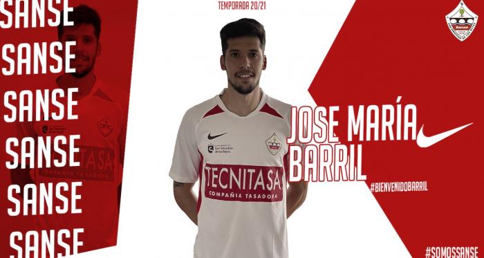La UD Sanse incorpora talento forjado en La Fábrica con el fichaje de José María Barril