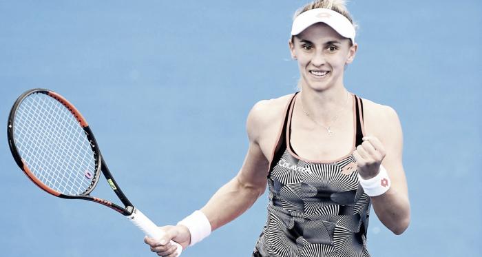 Tsurenko con el puño apretado | Foto: WTA