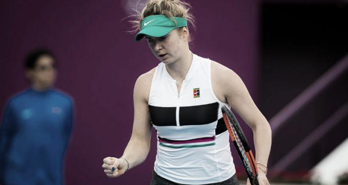 Svitolina en acción | Foto: WTA